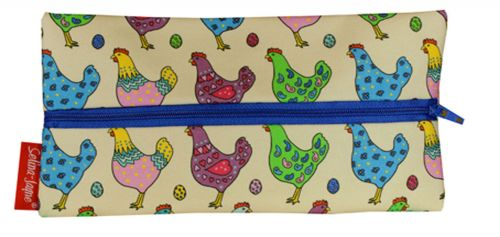 Selina-Jayne Chickens Limited Edition Designer Pencil Case